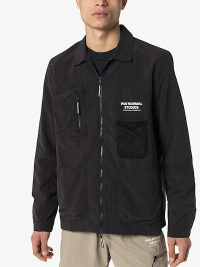 black Off Race work jacket