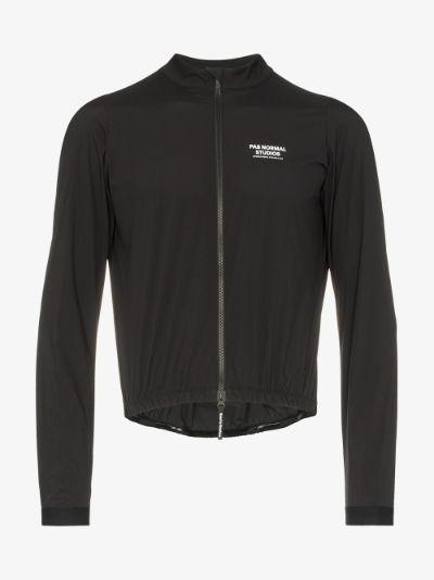 Black stow away jacket