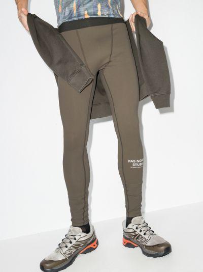 brown Balance leggings