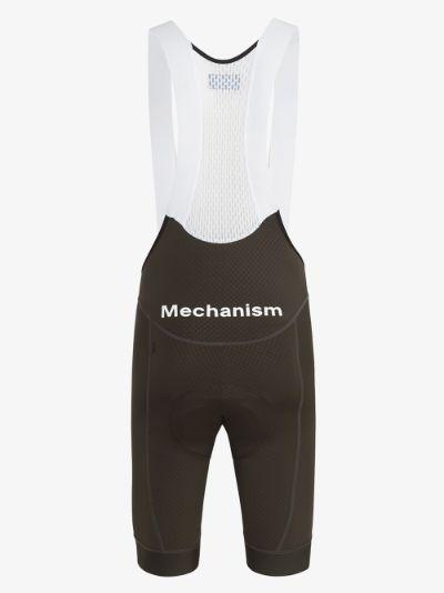 Green Mechanism Cycling Bib Shorts