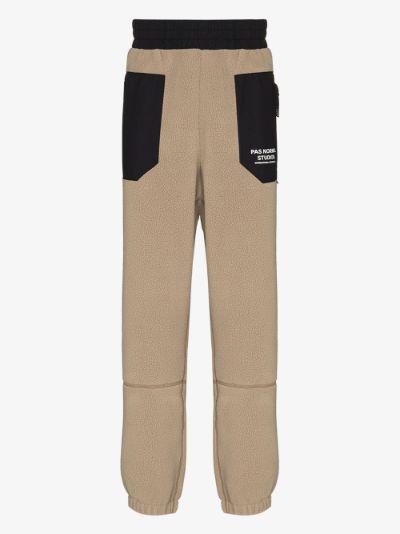 neutral Off Race fleece sweatpants