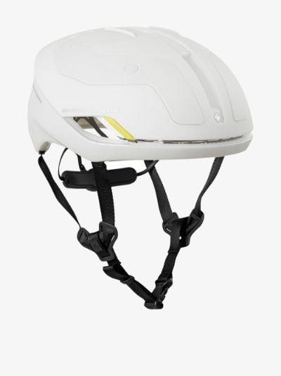 white falconer cycling helmet