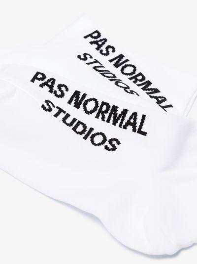 white logo control oversocks