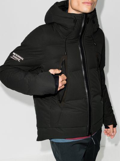 X Descente Allterrain Green Misuzawa padded jacket