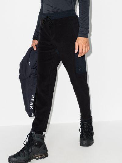 Black Tech Soft Track Pants
