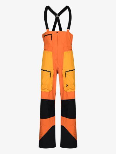 orange Vertical Pro ski trousers