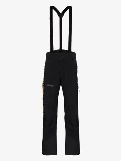 X Ben Gorham black padded ski trousers