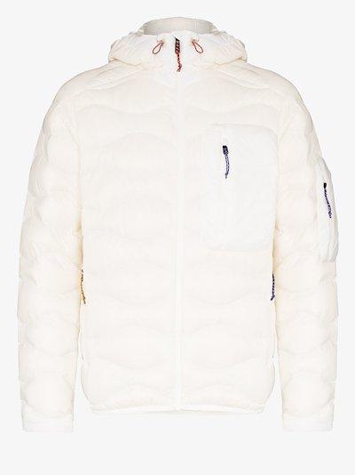 X Ben Gorham White Helium Padded Jacket