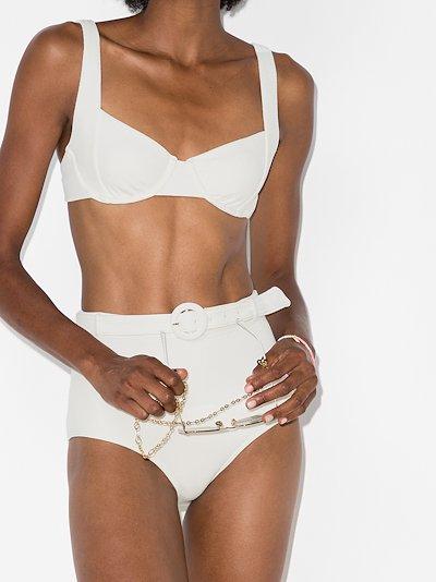 Petunia balconette bikini top