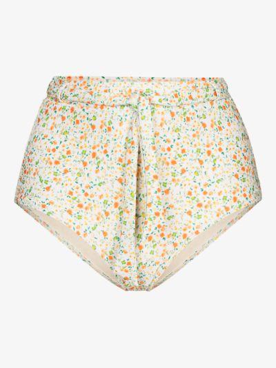 Wildflower high waist bikini bottoms