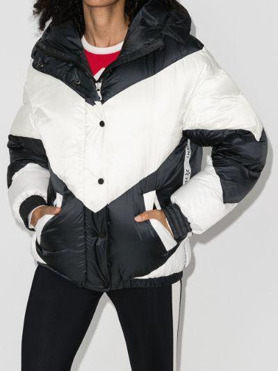Aspen ski hooded puffer jacket