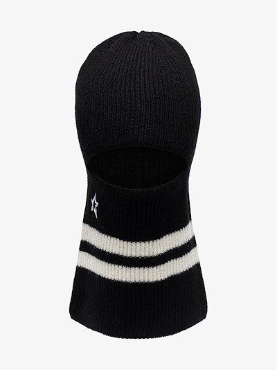 black merino wool balaclava