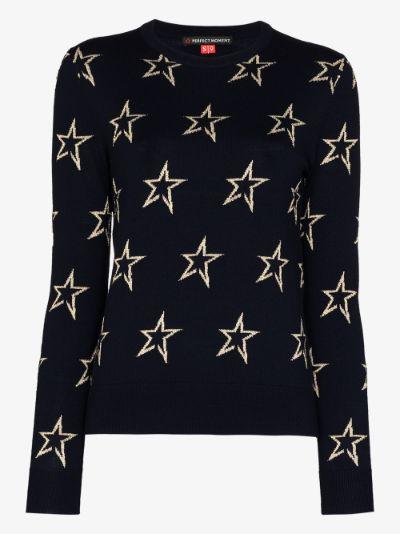 Floro star wool sweater