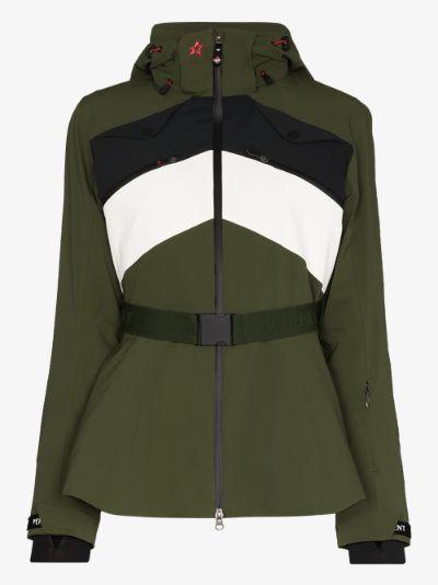 Niseko belted ski jacket