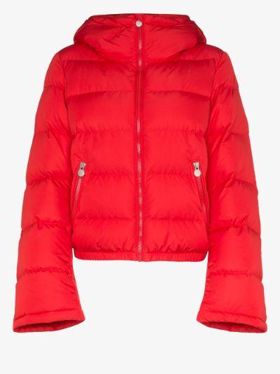 Polar padded ski jacket