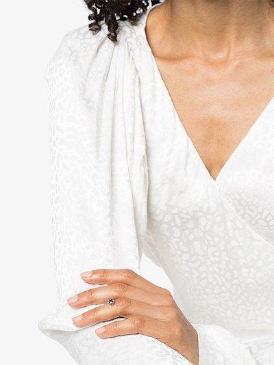 18K white gold Imagine sapphire cluster ring