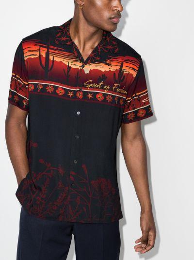 Desert Landscape printed shirt