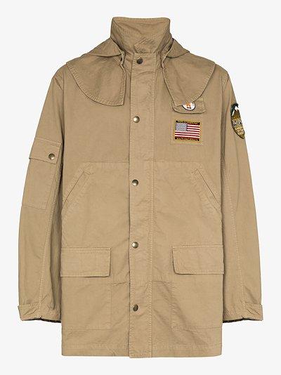 Hunting parka jacket
