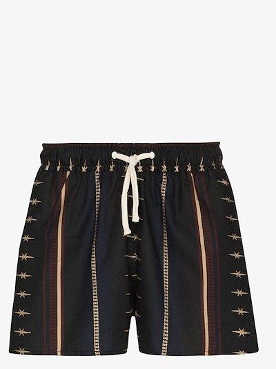 Rodeo printed shorts