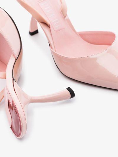 pink Upanova 85 vegan leather pumps