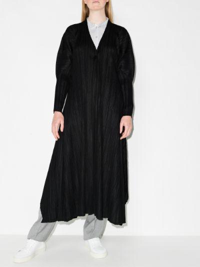 Mellow Pleats plissé coat