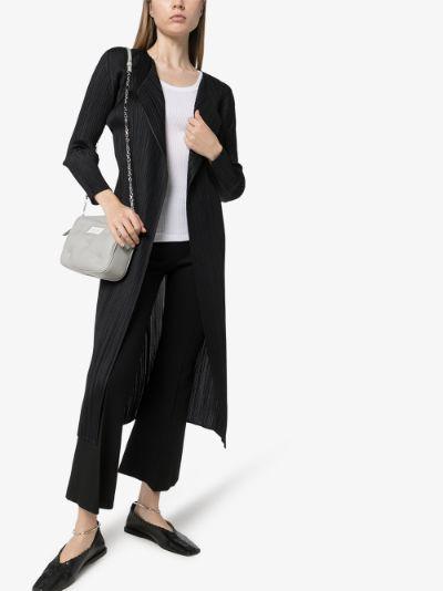 plissé coat