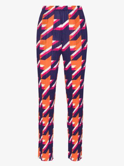 Shooting Star plissé trousers