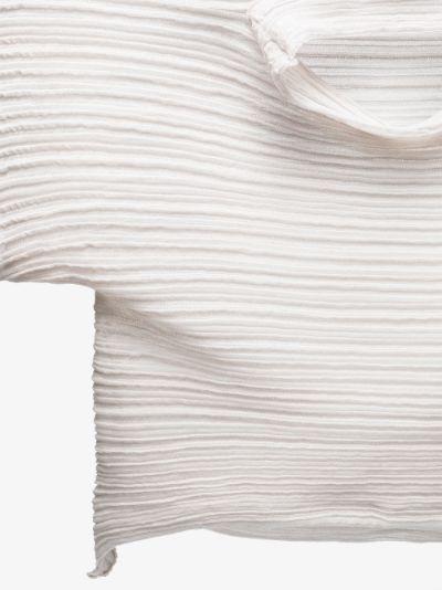 Snow Cone plissé top