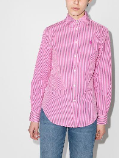 Georgia striped cotton shirt