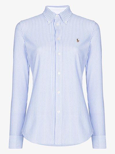 Oxford stripe cotton shirt