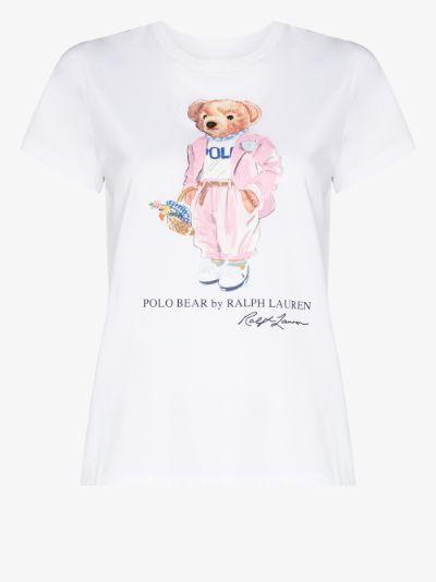 picnic polo bear T-shirt