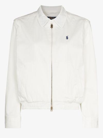 Polo Pony embroidered coach jacket