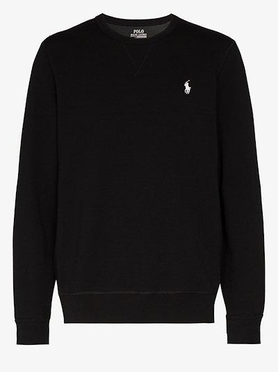 Polo Pony embroidered jersey sweatshirt