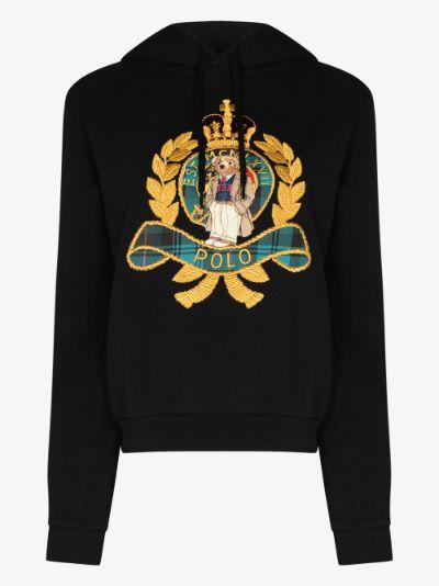 X Browns crest logo hoodie