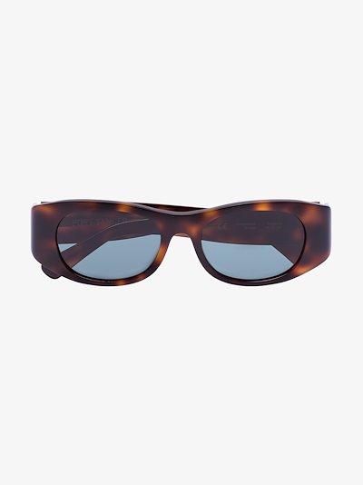brown Tangerine tortoiseshell sunglasses