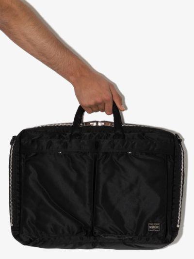 Black Tanker 2Way briefcase