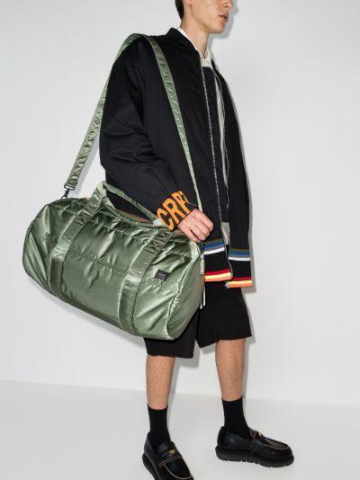 green Boston 2Way holdall bag