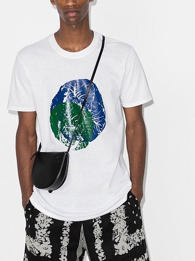 X Homecoming print cotton T-shirt