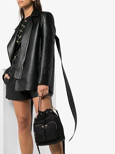 Black Duet bucket bag