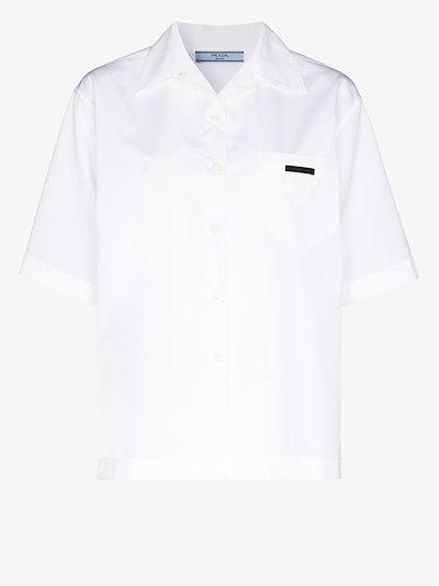 boxy logo shirt