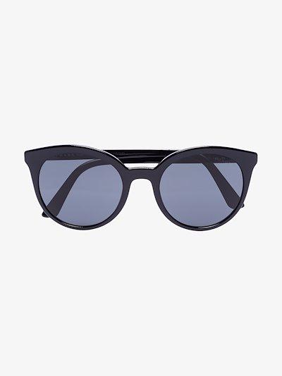 black round tinted sunglasses