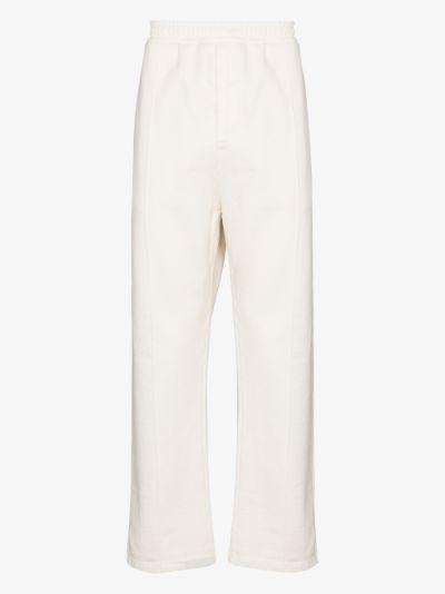 straight leg track pants