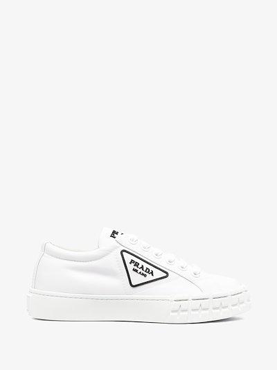 white Wheel Re-Nylon sneakers