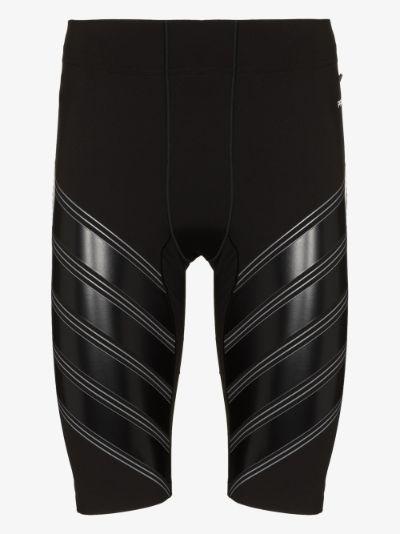 black Power Run shorts