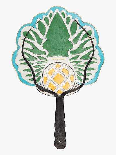 Multicoloured Pineapple small fan