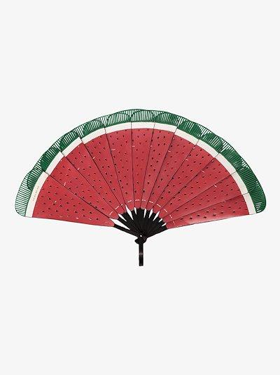 red Semangka Watermelon fan