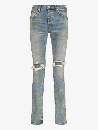 vintage slim leg jeans