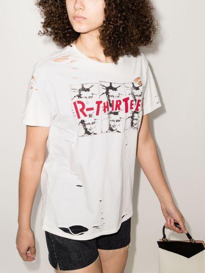 Mona Lisa print cotton T-shirt
