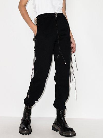 Multi-drawstring track pants