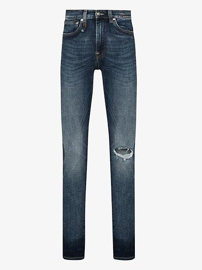 Sid distressed skinny jeans